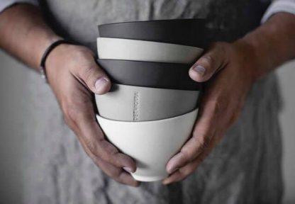 Ernst Skål Keramik Mörkgrå