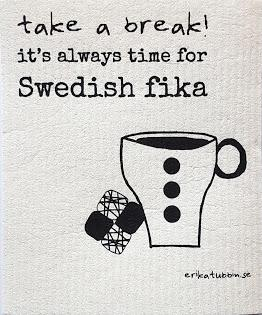 """Disktrasa """"Swedish fika"""""""