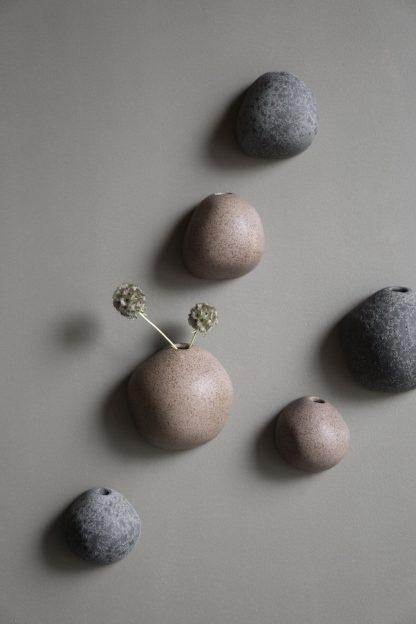 Miniature Vase Medium Black