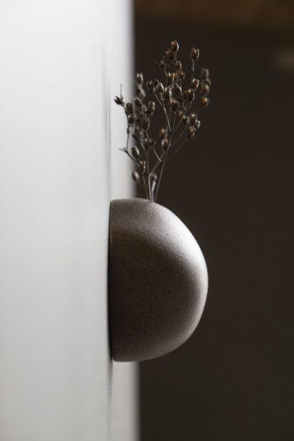 Miniature Vase Large Brown