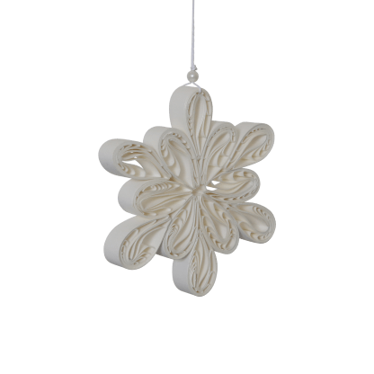 Pappersdekoration - Light flake large