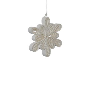 Pappersdekoration - Light flake small
