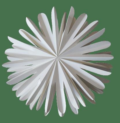Pappersdekoration - Paper flake xl