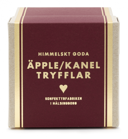 Tryfflar Äpple/Kanel